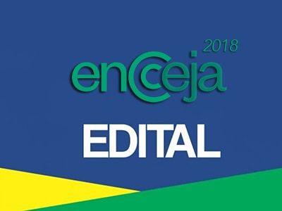 Edital Encceja 2018