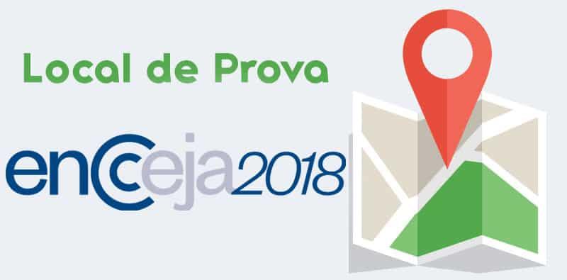 Encceja 2018 Locais de Prova Rio de Janeiro
