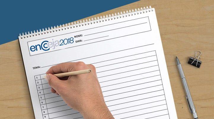 Encceja 2018 - Como tirar uma boa nota na Redação?