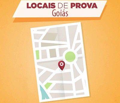 Encceja 2018 Locais de Prova Goiás