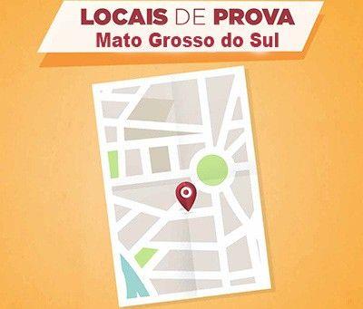 Encceja 2018 Locais de Prova Mato Grosso do Sul