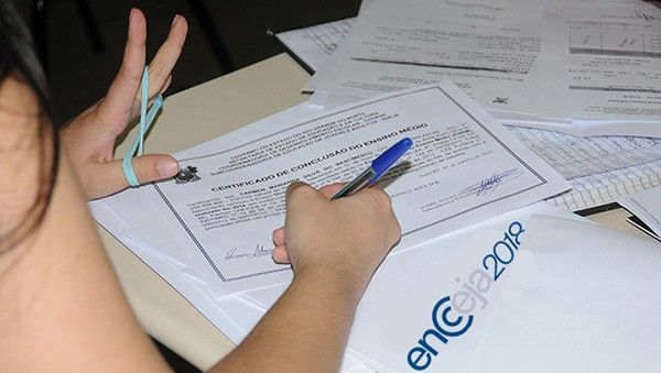 Retirar Certificado Encceja Fundamental