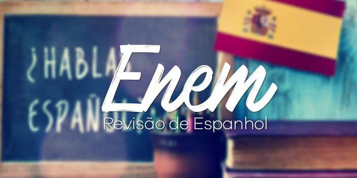 Prova Espanhol Enem 2018