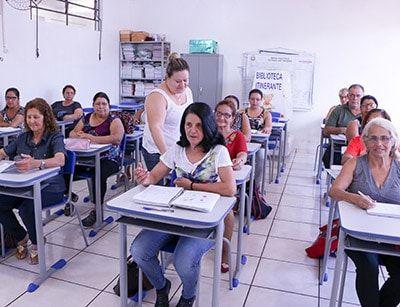 Inscrição Educação Jovens e Adultos 2018