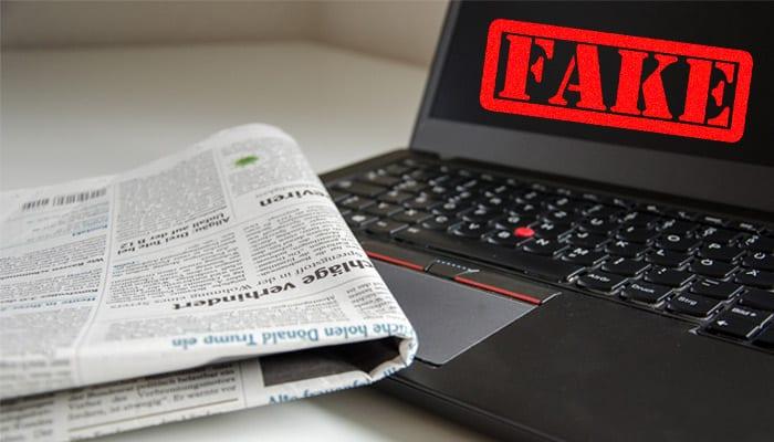 fake news redação