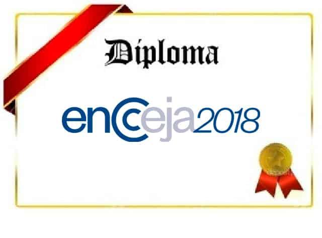 Certificação do Encceja 2018 juntando resultados