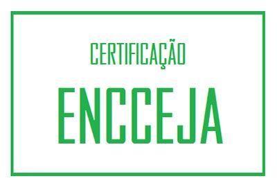 Tipos de Certificado Encceja