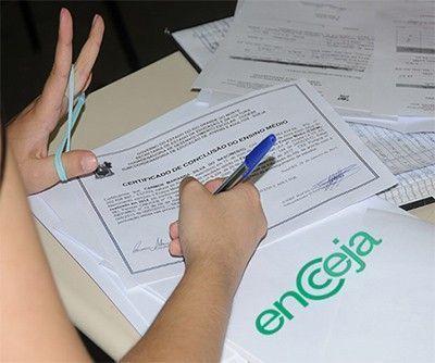 Solicitação Certificado Encceja