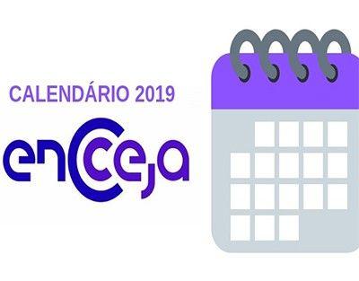 Datas Encceja Nacional 2019