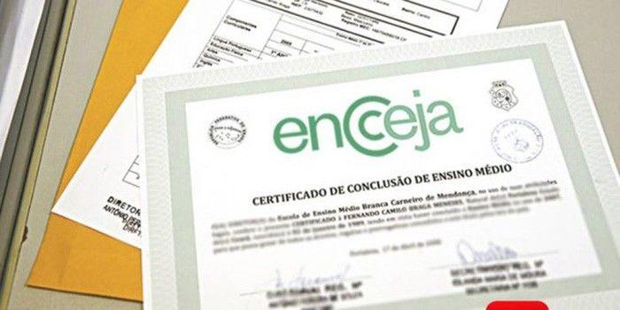Certificado Parcial do Encceja 2019