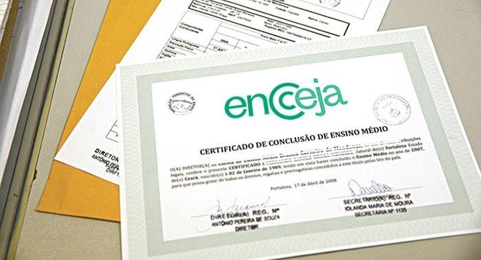 Posso fazer faculdade com um certificado do Encceja?