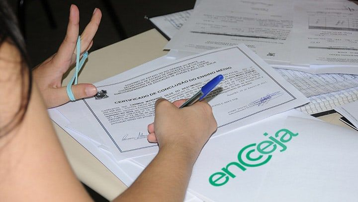 Certificado ou Declaração de Proficiência do Encceja