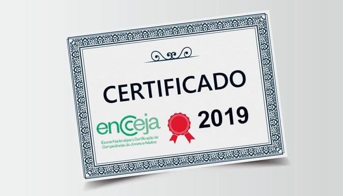 Como solicitar o Certificado de Ensino Médio ou Fundamental do Encceja 2019?