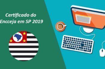 Certificado do Encceja 2019 - Onde pegar o documento em São Paulo?