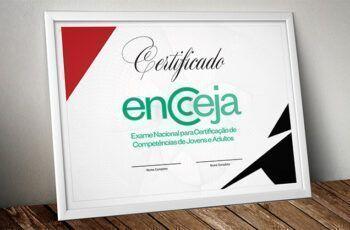 Certificado do Encceja