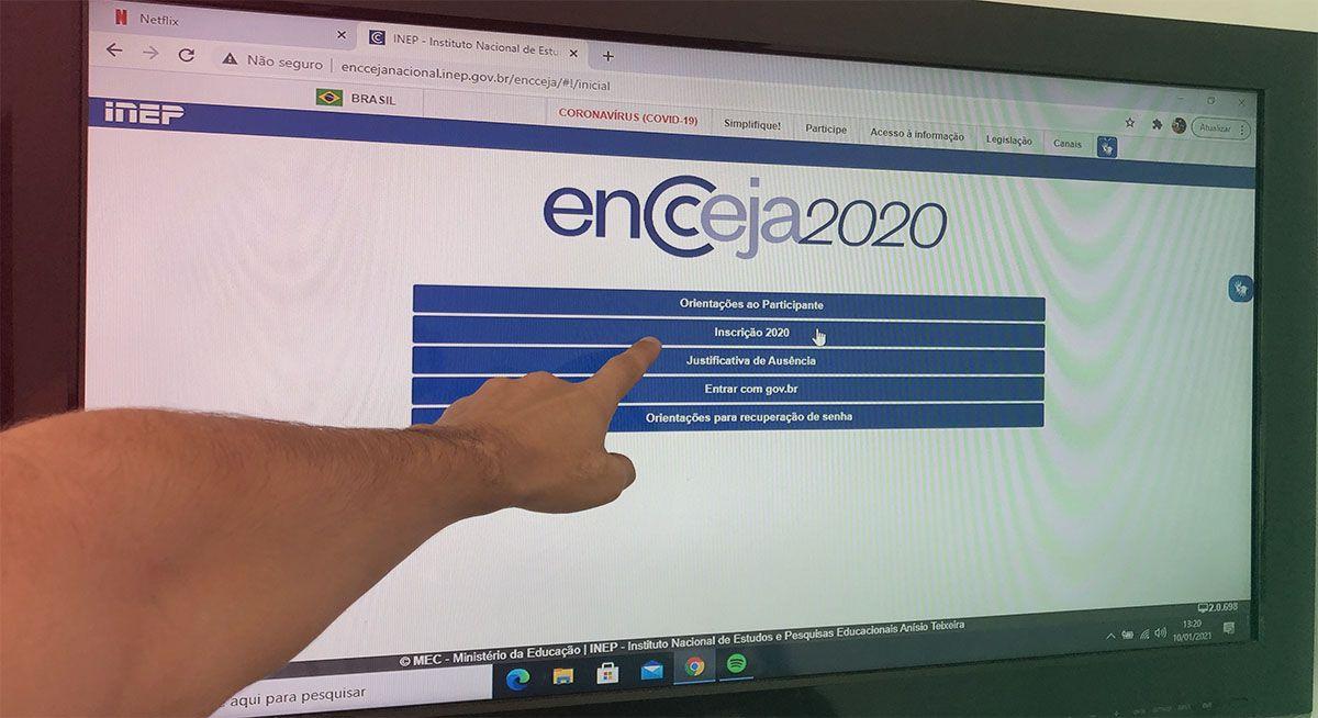Estão ABERTAS as INSCRIÇÕES ENCCEJA 2020