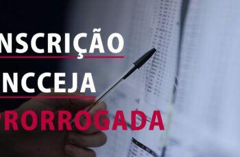 PRORROGADO as INSCRIÇÕES do ENCCEJA 2020 / 2021