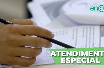 ATENDIMENTO ESPECIALIZADO ENCCEJA 2020 / 2021